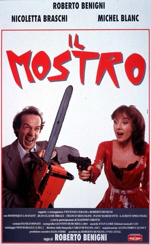 Il mostro - Italian Movie Poster (thumbnail)
