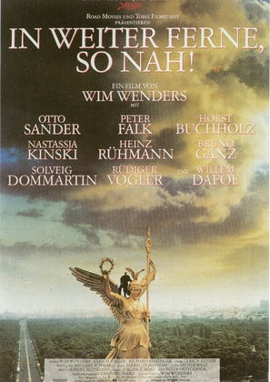 In weiter Ferne, so nah! - German Movie Poster (thumbnail)