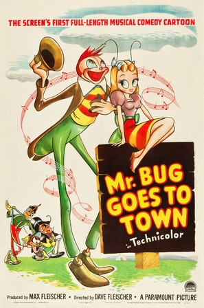 Mr. Bug Goes to Town - Movie Poster (thumbnail)