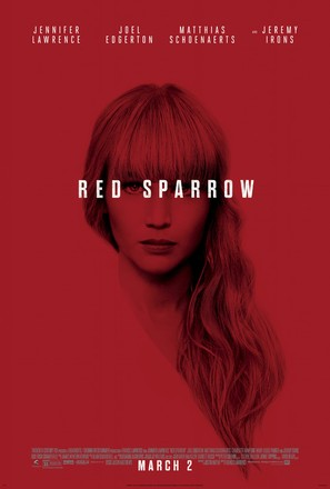 Red Sparrow - Theatrical movie poster (thumbnail)