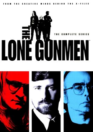 """The Lone Gunmen"" - DVD cover (thumbnail)"