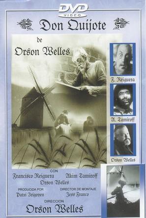 Don Quijote de Orson Welles - Spanish poster (thumbnail)