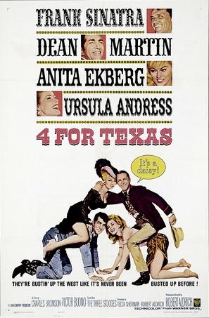 4 for Texas - Movie Poster (thumbnail)