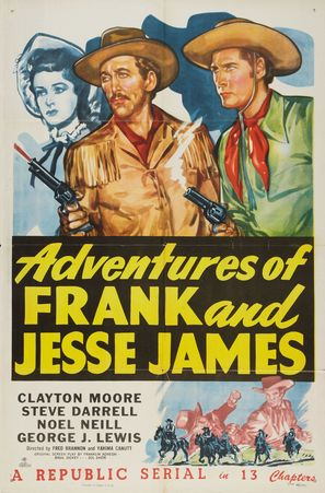 Adventures of Frank and Jesse James - Movie Poster (thumbnail)