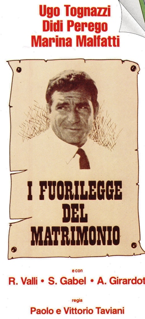 Fuorilegge del matrimonio, I - Italian Movie Poster (thumbnail)
