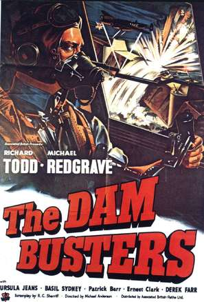 The Dam Busters - British Movie Poster (thumbnail)
