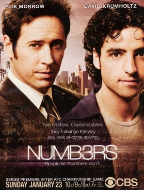 """Numb3rs"" - Movie Poster (thumbnail)"