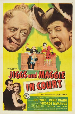 Jiggs and Maggie in Court - Movie Poster (thumbnail)