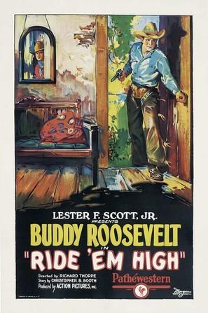 Ride 'em High - Movie Poster (thumbnail)