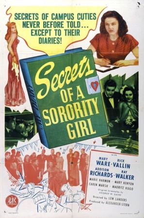 Secrets of a Sorority Girl - Movie Poster (thumbnail)