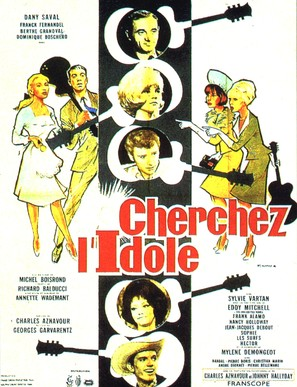 Cherchez l'idole - French Movie Poster (thumbnail)