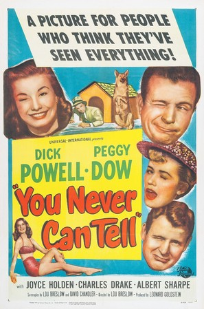 You Never Can Tell - Movie Poster (thumbnail)