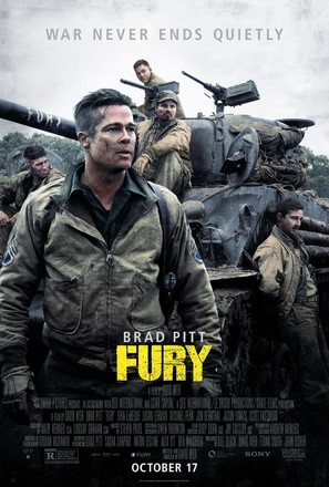 Fury - Movie Poster (thumbnail)