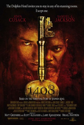 1408 - Theatrical movie poster (thumbnail)