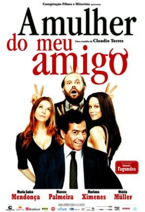 A Mulher do meu Amigo - Brazilian Movie Poster (thumbnail)