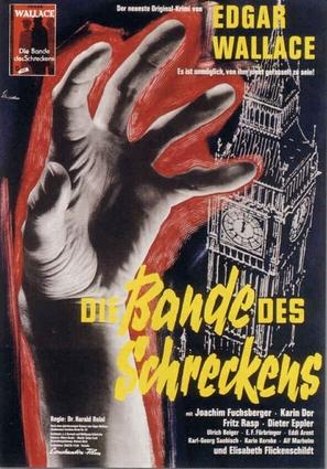 Die Bande des Schreckens - German Movie Poster (thumbnail)