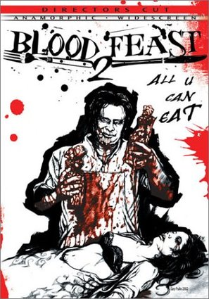 Blood Feast 2: All U Can Eat - DVD cover (thumbnail)