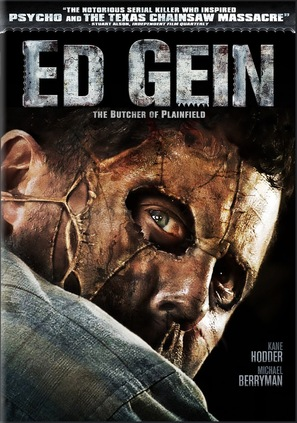 Ed Gein: The Butcher of Plainfield - DVD cover (thumbnail)