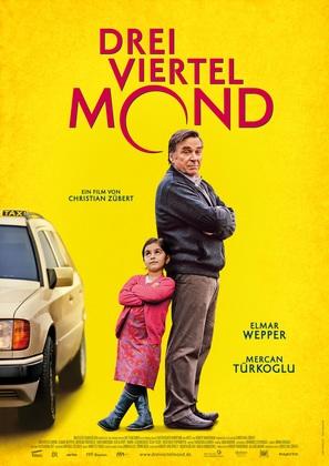 Dreiviertelmond - German Movie Poster (thumbnail)