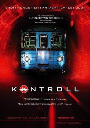 Kontroll - German Movie Poster (thumbnail)