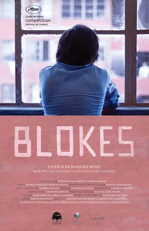 Blokes - French Movie Poster (thumbnail)