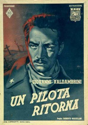 Un pilota ritorna - Italian Movie Poster (thumbnail)