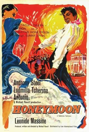 Luna de miel - British Movie Poster (thumbnail)