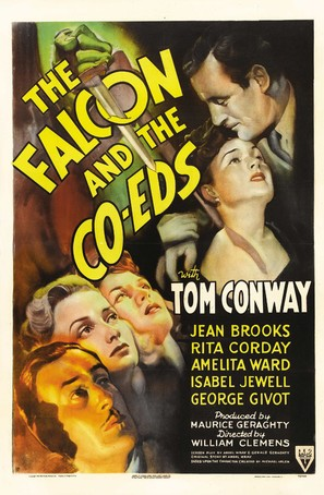 The Falcon and the Co-eds - Movie Poster (thumbnail)