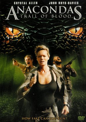 Anaconda 4: Trail of Blood - DVD cover (thumbnail)