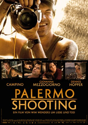 Palermo Shooting - German Movie Poster (thumbnail)