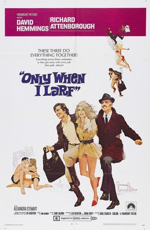Only When I Larf - Movie Poster (thumbnail)