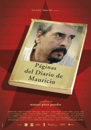 Páginas del diario de Mauricio - Spanish poster (thumbnail)