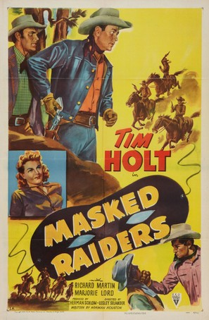 Masked Raiders - Movie Poster (thumbnail)