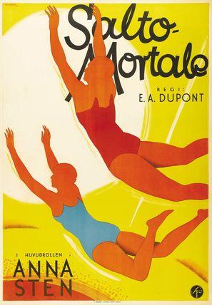 Salto Mortale - Swedish Movie Poster (thumbnail)