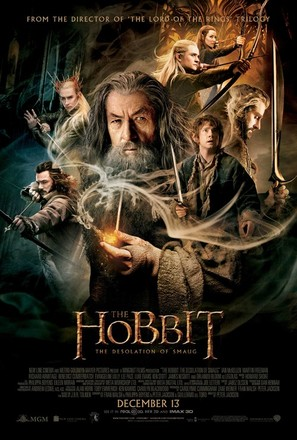 The Hobbit: The Desolation of Smaug - Movie Poster (thumbnail)