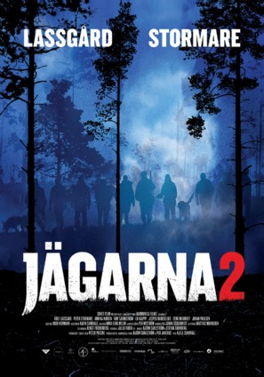 Jägarna 2 - Swedish Movie Poster (thumbnail)