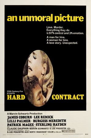 Hard Contract - Movie Poster (thumbnail)