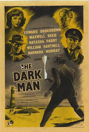 The Dark Man - British Movie Poster (thumbnail)