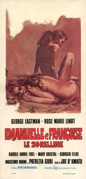 Emanuelle e Françoise le sorelline - Italian Movie Poster (thumbnail)