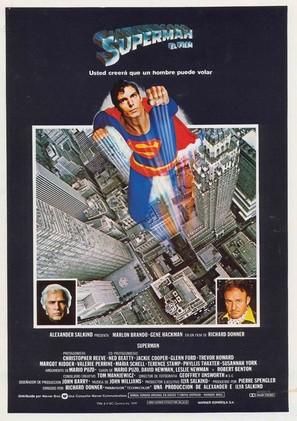 Superman - Spanish Movie Poster (thumbnail)