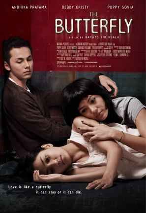 The Butterfly - Indonesian Movie Poster (thumbnail)