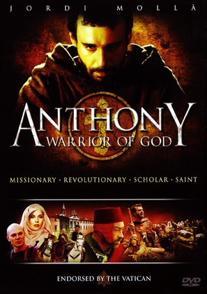 Antonio guerriero di Dio - DVD movie cover (thumbnail)