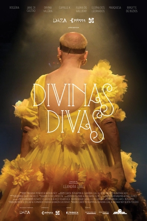 Divinas Divas - Brazilian Movie Poster (thumbnail)