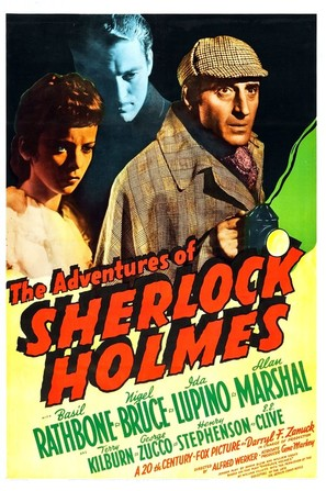 The Adventures of Sherlock Holmes - Movie Poster (thumbnail)