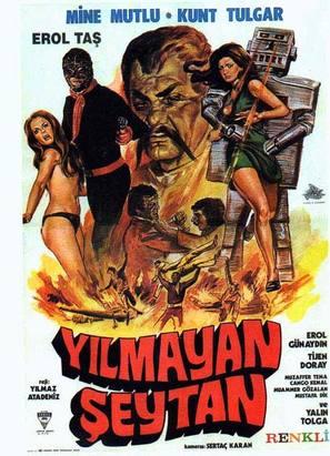 Yilmayan seytan - Turkish Movie Poster (thumbnail)