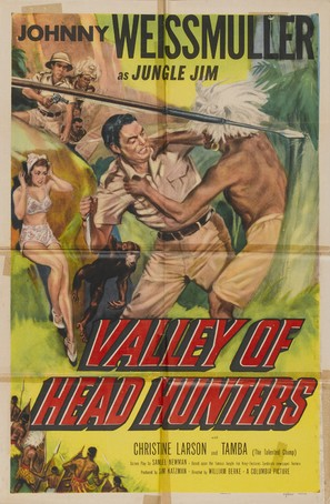 Valley of Head Hunters - Movie Poster (thumbnail)