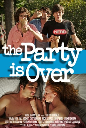 The Party Is Over - Movie Poster (thumbnail)