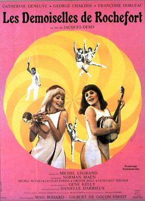 Les demoiselles de Rochefort - French Movie Poster (thumbnail)
