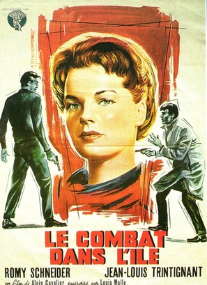 Le combat dans l'île - French Movie Poster (thumbnail)