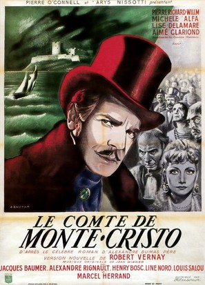 Le comte de Monte Cristo, 1ère époque: Edmond Dantès - French Movie Poster (thumbnail)